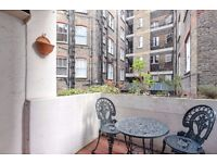 Priory Walk Chelsea SW10. One bed flat to rent with private terrace.