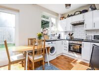 A recently refurbished house offering three double bedrooms and a garden, situated on Seely Road.