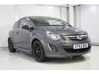 2014 Vauxhall Corsa 1.2i 16v Limited Edition In Grey