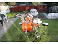 Mapex Drum Kit - Orange