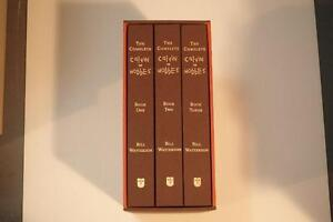 The Complete Calvin and Hobbes Complete Collection - 3 Bound Hardcover Volumes - 2005 edition