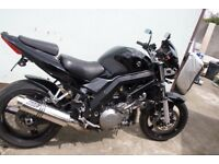 FOR SALE SV1000 K7 Streetfighter. Never crashed or dropped, power commander, alarm, A16 end cans,