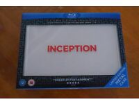 INCEPTION LIMITED EDITION METAL CASE BLU-RAY