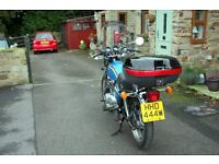 CLASSIC HONDA (HONDAMATIC) 1980 395cc TWIN MOTORCYCLE, ONLY 27000 MILES