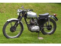 1967 BSA WD B40 350cc Trials Trim