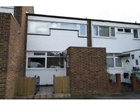 Sunny spacious 3 bedroom House and garden, newly decorated, 10 mins to Southfields, parking