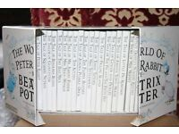 Beatrix Potter boxed set collection.