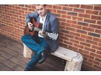 Singer/guitarist available for Pubs/Restaurants/Events etc. AVAILABLE THIS WEEKEND!!