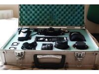 Canon A1 Photography kit 35mm PRIME