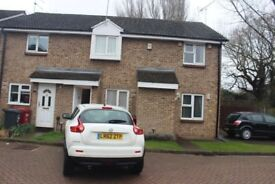 A two bedroomed end of terraced house in Slough Frogmore Close (SL1 9BN) to let