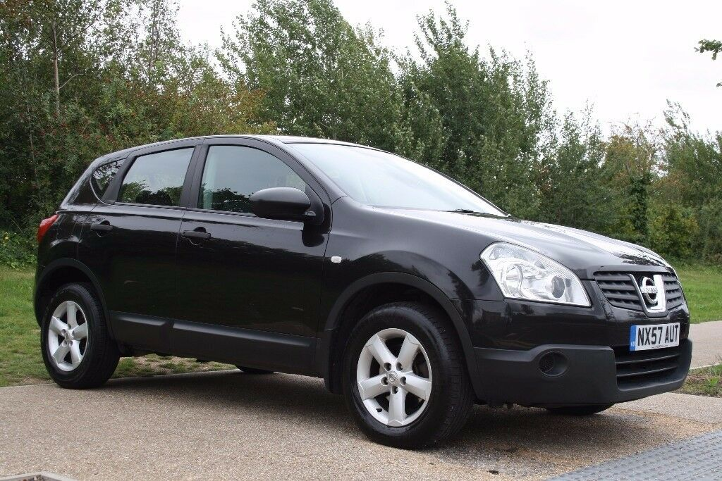 2007 Nissan Qashqai 2.0 Visia CVT SUV 5dr AUTOMATIC, LOW MILES, NEW MOT, WARRANTY, PX WELCOME