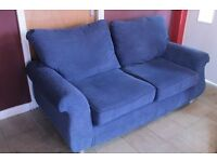 3 Seater Sofa - Royal Blue