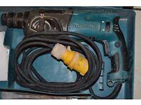 Makita 110 v hr 2470 rotary hammer drill 3 functions