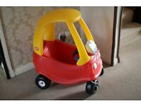 Little Tikes Red Toy Car Ride In Outdoor Indoor