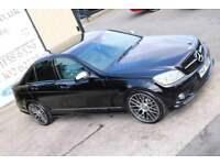 LATE 2007 MERCEDES-BENZ C220 CDI AUTO SPORT SALOON (FINANCE & WARRANTY)