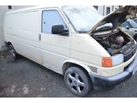 1998 VW T4 2.5l Petrol Transporter van long mot only 74k miles