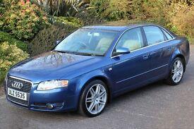 *Beautiful*Audi A4 3.0TDi Quattro SE Auto-Tip, Full Cream Leather, SATNAV*12MTHS WARRANTY INCLUDED*