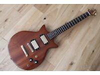 Custom Made Electric Guitar - Mahogany