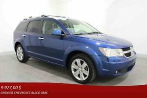 2010 Dodge JOURNEY AWD R/T *7 PASSAGERS + GPS + CUIR + DVD*