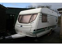 PRICE DROP 2004 Lunar Chetau 4/5Berth Fixed Bed NO DAMP OR DAMAGE