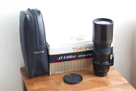 Tokina 400mm f5.6 lens for Pentax