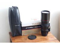 Tokina 400mm f5.6 lens for Pentax