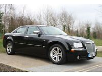 2006 Chrysler 300C 3.0 CRD F.S.HISTORY, AUTO, LEATHER, SAT NAV, SUN ROOF, LOW MILEAGE, 3M WARRANTY
