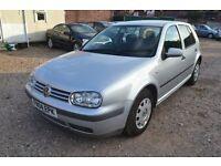 VOLKSWAGEN GOLF 1.6 S 5dr Auto (silver) 2004