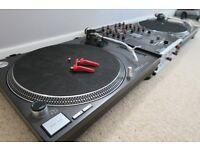Technics 1210 MK2 (Pair) / Urei Mixer / Stanton Diablo Cartridges x 4