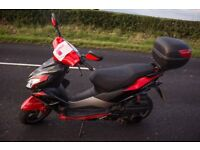 Motorbike scooter pulse Lightspeed 2 125cc great runner only 2 years old a few scratches on panels