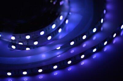 24v 72w UV 5m Strip Tira 300LED SMD5050 Ultravioleta Lámpara Madera C4B1