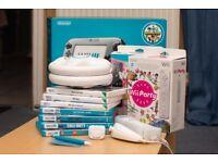 Nintendo Wii U 32GB Console Bundle (Original Box) + Games, Controllers, and Accessories