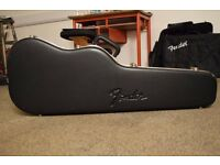 Genuine Fender Hard Case for Telecaster/Stratocaster Chainsaw Shape