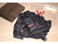 Luxury Louis Vuitton black colour Scarf /Shawl - brand new