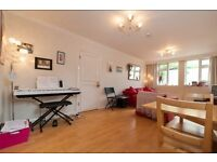 A charming two double bedroom ground floor garden flat to rent on Cresford Road, SW6
