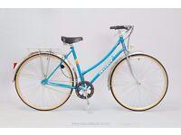 "Peugeot Amboise Vintage Ladies Bicycle - 50cm/19.5"" Medium Womens Step-Through French Town Bike"
