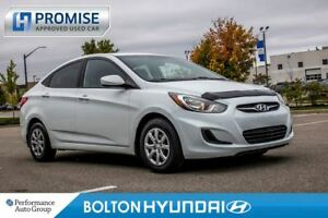 2013 Hyundai Accent -SOLD/PENDING DEAL-CPO. GL. Heated Seats. Cr