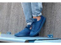 Adidas Originals Stan Smith PrimeKnit Men's Shoe Blue Size UK 9 and a half