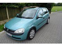 Vauxhall Corsa 1.4, Low Mileage, FSH, 5 Doors, No Faults, Fantastic Condition, 12 Months MOT
