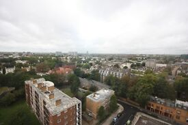 An extremely spacious two/three double bedroom apartment located on the 14th floor