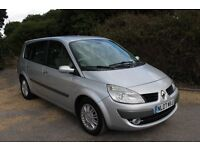 FROM £20 PER WEEK 2007 RENAULT SCENIC DCI MPV1.5 DIESEL MANUAL SILVER ONLY 60K MILES LOTS OF HISTORY