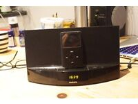 Philips AD712/05 ipod iphone dock docking station stereo speakers