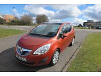 VAUXHALL MERIVA 1.4 SE,2012,Only27,000mls, Alloys,Air Con,Cruise,Glass Roof,Spotless Condition,F.S.H