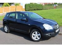 NISSAN QASHQAI ACENTA**62000 MILES**FULL SERVICE HISTORY**12 MONTH MOT**2 OWNERS**HPI CLEAR