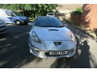 Toyota Celica 2001 1.8 Litre 141bhp VVTI - Full Body Kit & Upgraded Alloys - Silver £1500 ono