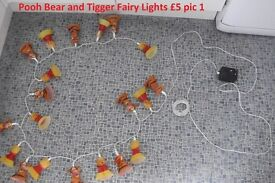 Pooh and Tigger Christmas Lights