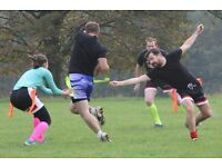Free Adult Tag Rugby Taster Classes in West Yorkshire (Bradford, Leeds and Wakefield)