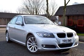 2011 BMW 320d SE 6 speed manual full leather hpi clear Vosa verified