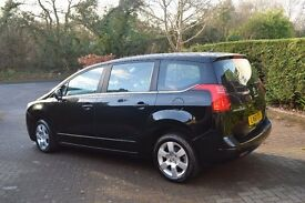 Peugeot 5008 1.6 HDi 110 Sport 5dr, 7-seater compact MPV, excellent condition, 61K miles