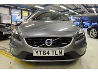 Volvo V40 D2 R-DESIGN LUX [ONLY 1 OWNER / LEATHER /XENONS] (savile grey metallic) 2014